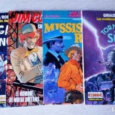 Comics : JIM CUTLASS (4 VOLÚMENES). Lote 107507299