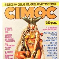 Cómics: CIMOC SELECCIÓN DE LAS 5 MEJORES REVSTAS DEL TOMO II. Lote 107877363