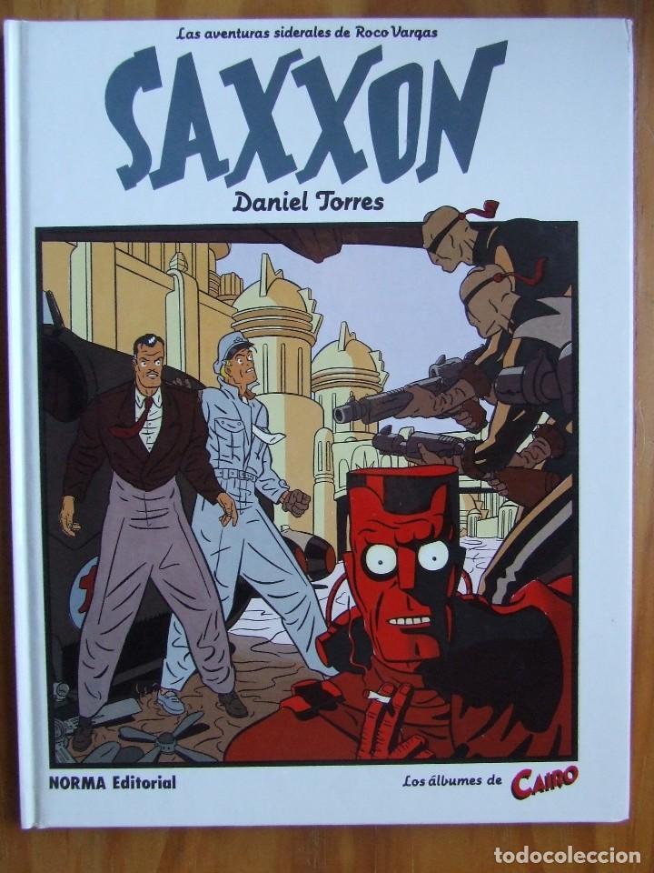 LOS ÁLBUMES DE CAIRO Nº 12 - LAS AVENTURAS SIDERALES DE ROCO VARGAS - SAXXON (Tebeos y Comics - Norma - Comic Europeo)