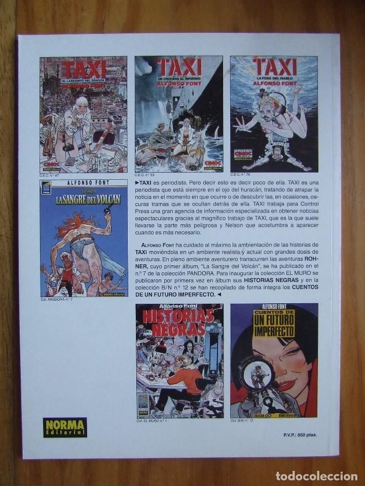 Cómics: CIMOC EXTRA COLOR Nº 78 - TAXI - LA FOSA DEL DIABLO - Foto 2 - 107909883