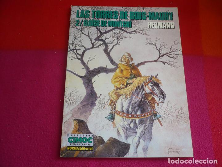 LAS TORRES DE BOIS-MAURY 2 ELOISE DE MONTGRI ( HERMANN ) ¡MUY BUEN ESTADO! EXTRA COLOR 86 (Tebeos y Comics - Norma - Comic Europeo)