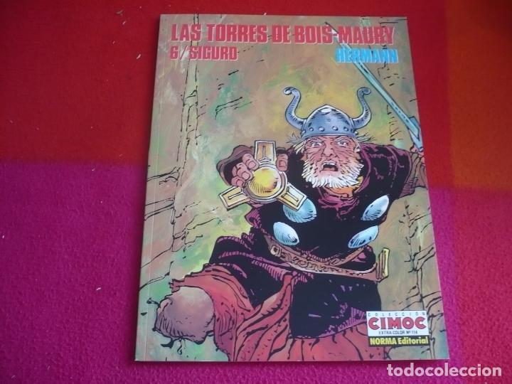 LAS TORRES DE BOIS-MAURY 6 SIGURD ( HERMANN ) ¡MUY BUEN ESTADO! EXTRA COLOR 114 (Tebeos y Comics - Norma - Comic Europeo)