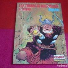 Cómics: LAS TORRES DE BOIS-MAURY 6 SIGURD ( HERMANN ) ¡MUY BUEN ESTADO! EXTRA COLOR 114. Lote 107972239