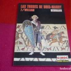 Cómics: LAS TORRES DE BOIS-MAURY 7 WILLIAM ( HERMANN ) ¡MUY BUEN ESTADO! EXTRA COLOR 140. Lote 107972339