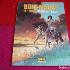 Cómics: LAS TORRES DE BOIS-MAURY 14 VASSYA ( HERMANN YVES H. ) ¡MUY BUEN ESTADO! EXTRA COLOR 256. Lote 107972683