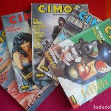 Cómics: CIMOC NºS 141, 142, 143, 144 Y 145 ¡BUEN ESTADO! NORMA CIENCIA FICCION FANTASIA. Lote 108446931