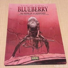 Cómics: BLUEBERRY: LOS MONTES DE LA SUPERSTICION. CHARLIER Y GIRAUD.. Lote 108792899