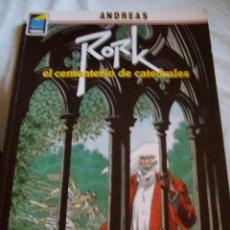 Cómics: RORK EL CEMENTERIO DE CATEDRALES COLECCION PANDORA Nº 14 NORMA EDITORIAL. Lote 108981867