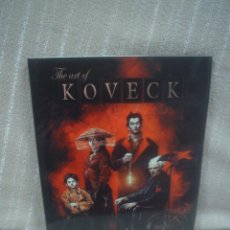Cómics: THE ART OF KOVECK. Lote 109360035