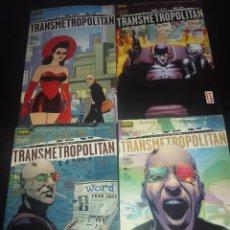 Cómics: COMICS TRANSMETROPOLITAN - REGRESO A LOS ORÍGENES - COLECCIÓN COMPLETA 4 NÚMEROS. Lote 223740381