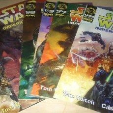 Cómics: COMICS STAR WARS IMPERIO OSCURO II - COLECCIÓN COMPLETA 6 NÚMEROS. Lote 109510895