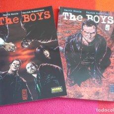 Cómics: THE BOYS TOMOS 1 Y 2 ( GARTH ENNIS DARICK ROBERTON ) ¡MUY BUEN ESTADO! NORMA. Lote 109532587