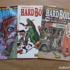 Comics - Hard Boiled 1 a 3 completa - Frank Miller y Geof Darrow - Col. made in the USA - Norma - JMV - 109564991