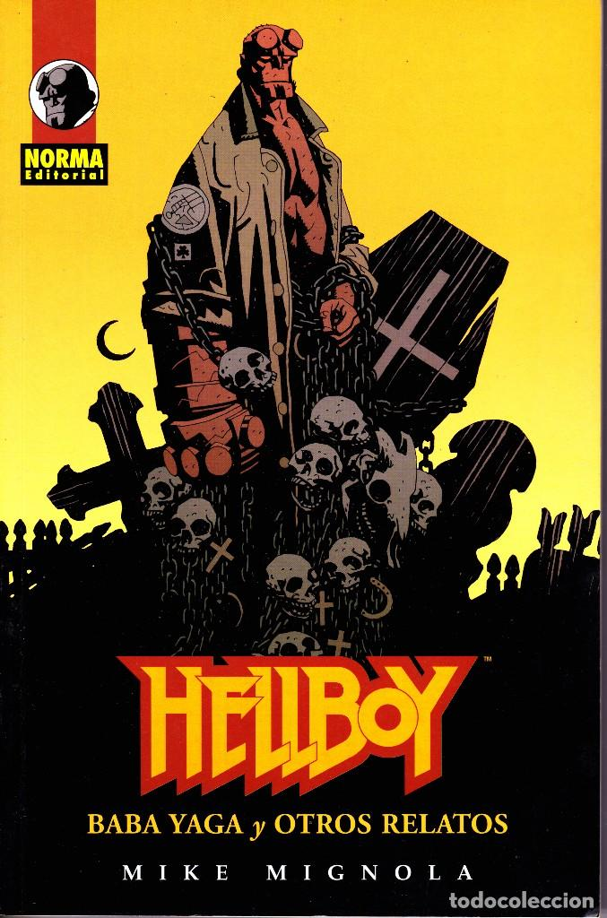 HELLBOY. 4 TOMOS. NORMA EDITORIAL (Tebeos y Comics - Norma - Comic USA)