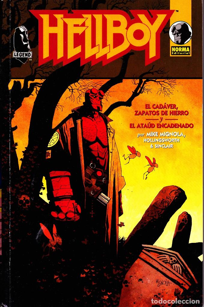 Cómics: HELLBOY. 4 TOMOS. NORMA EDITORIAL - Foto 3 - 109581483