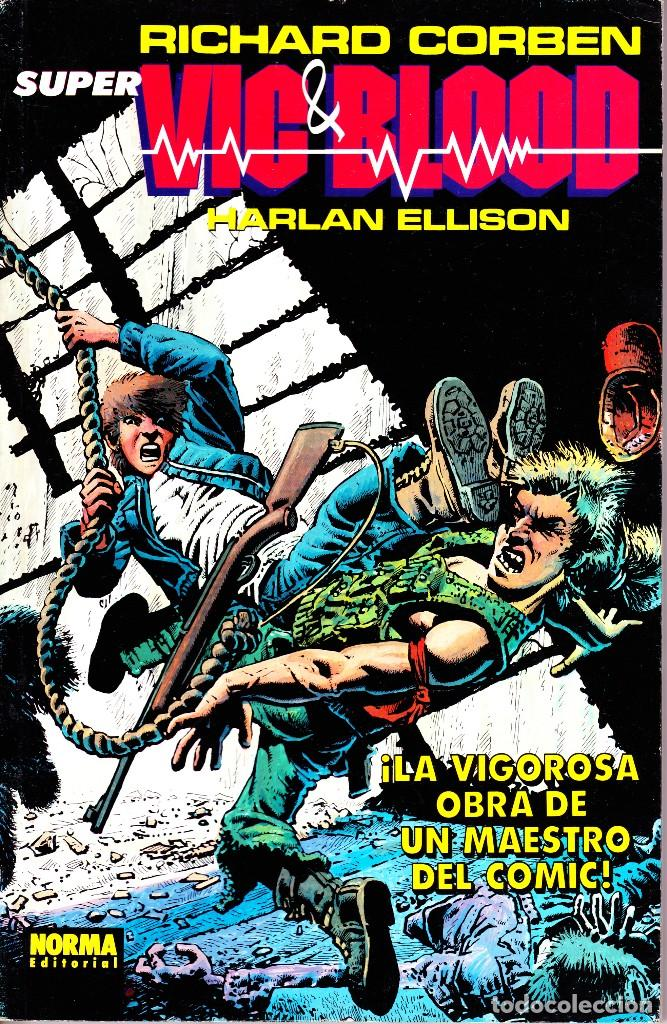 SUPER VIC & BLOOD. RETAPADO NORMA (Tebeos y Comics - Norma - Comic USA)
