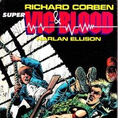 Cómics: SUPER VIC & BLOOD. RETAPADO NORMA. Lote 109586107