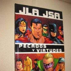 Cómics: JSA JLA - PECADOS Y VIRTUDES - NORMA. Lote 109602835