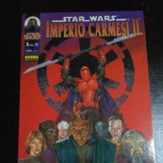 Cómics: STAR WARS - IMPERIO CARMESÍ II - CONSEJO SANGRIENTO. Lote 109635215