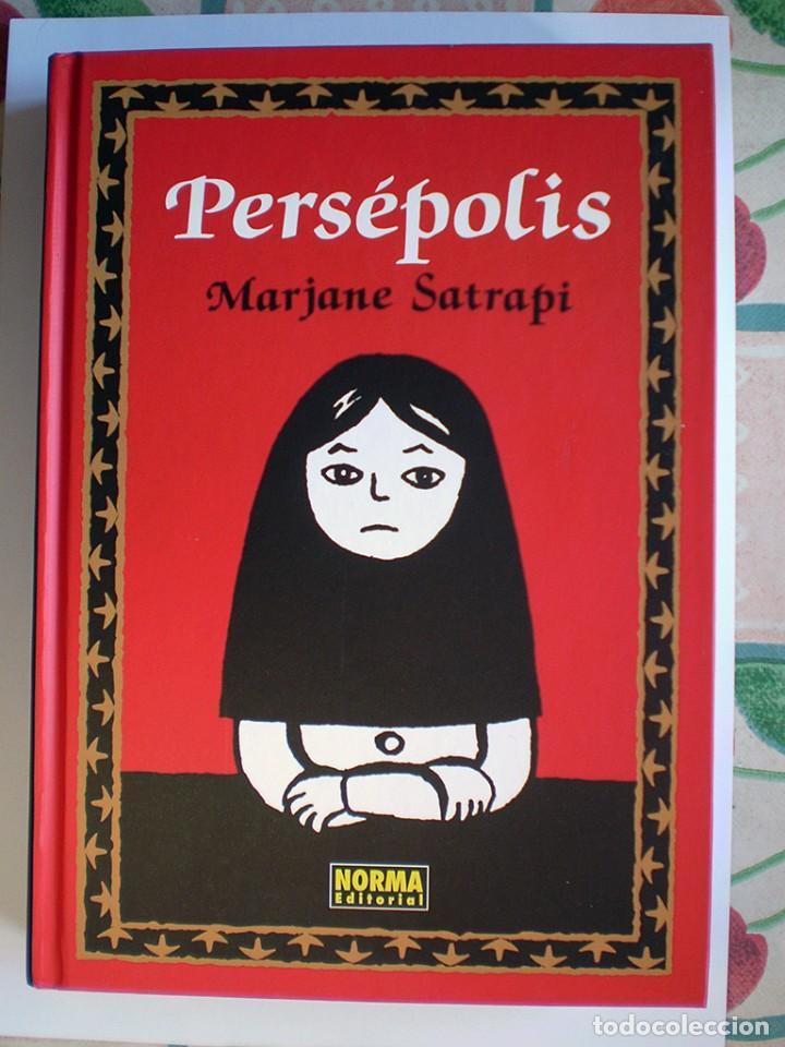 MARJANE SATRAPI: PERSÉPOLIS (INTEGRAL) NORMA, COLECCIÓN NÓMADAS 3 (Tebeos y Comics - Norma - Comic Europeo)