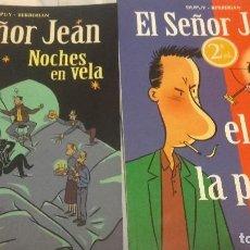 Cómics: EL SEÑOR JEAN - LOTE 2 NºS EL AMOR, LA PORTERA + NOCHES EN VELA . COL EXTRA COLOR 174 Y 201. Lote 110138499