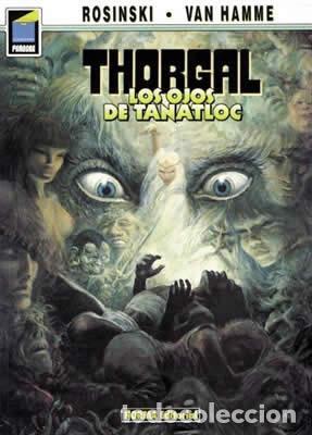 NORMA EDITORIAL. COL. PANDORA 9, THORGAL 11 LOS HOJOS DE TANATLOC ROSINSKI - VAN HAMME (Tebeos y Comics - Norma - Comic Europeo)
