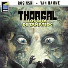 Cómics: NORMA EDITORIAL. COL. PANDORA 9, THORGAL 11 LOS HOJOS DE TANATLOC ROSINSKI - VAN HAMME. Lote 110155611