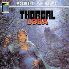 Cómics: NORMA EDITORIAL. COL. PANDORA 26, THORGAL 16 LOBA ROSINSKI - VAN HAMME. Lote 110155999