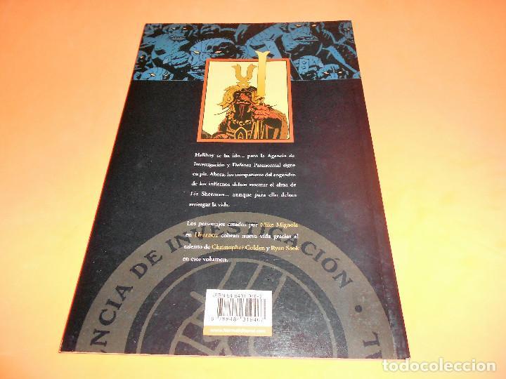 Cómics: AIDP & ZOMBIE WORLD. MIKE MIGNOLA Y OTROS. DOS VOLUMENES IMPECABLES . RUSTICA. - Foto 2 - 110310275
