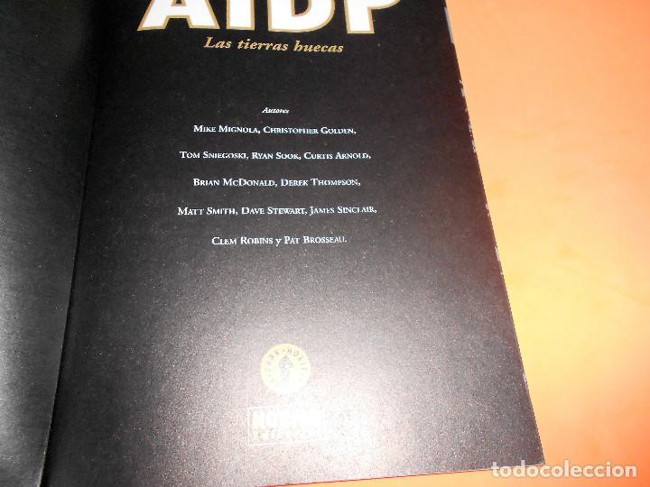 Cómics: AIDP & ZOMBIE WORLD. MIKE MIGNOLA Y OTROS. DOS VOLUMENES IMPECABLES . RUSTICA. - Foto 3 - 110310275