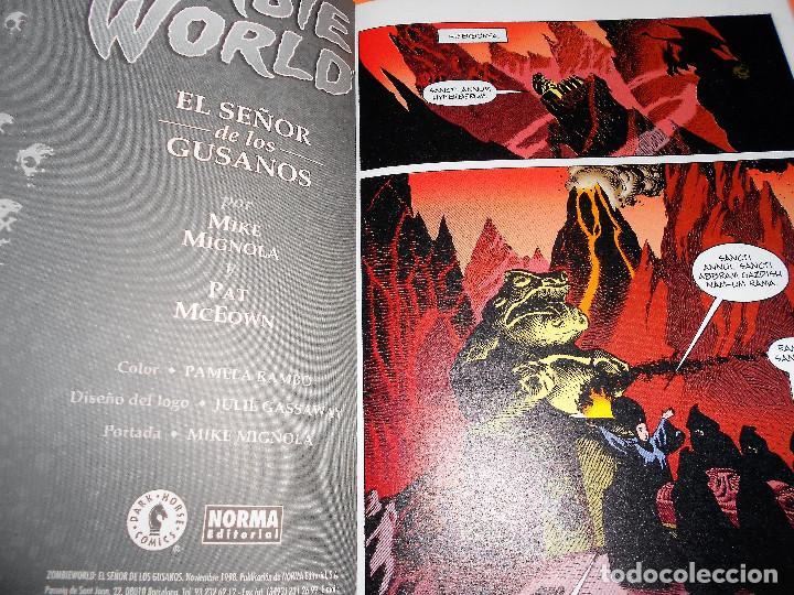 Cómics: AIDP & ZOMBIE WORLD. MIKE MIGNOLA Y OTROS. DOS VOLUMENES IMPECABLES . RUSTICA. - Foto 7 - 110310275
