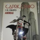 Cómics: CAPRICORNIO 1. EL OBJETO. Lote 110412679