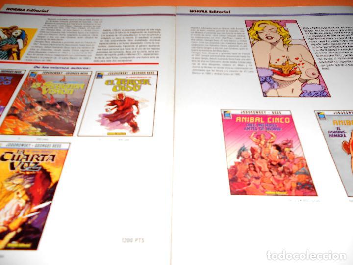 Cómics: ANIBAL CINCO. JODOROWSKY & BESS. DOS TOMOS EN BUEN ESTADO. - Foto 2 - 110451059