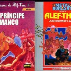 Cómics: ALEF THAU COMPLETA 1990-200O JODOROWSKY( 3 PREMIOS HAXTUR) ARNO NORMA HUMANOIDES. Lote 110519591