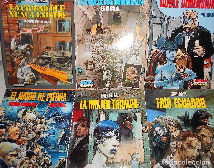 ENKI BILAL . 6 VOLUMENES RUSTICA . MUY BUEN ESTADO. (Tebeos y Comics - Norma - Comic Europeo)
