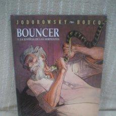Cómics: BOUNCER Nº 3 - LA JUSTICIA DE LAS SERPIENTES - JODOROWSKY / BOUCQ. Lote 144212945