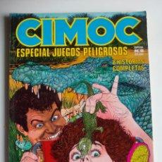 Cómics: CIMOC ESPECIAL JUEGOS PELIGROSOS. N 8.. Lote 110748035