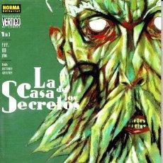 Cómics: LA CASA DE LOS SECRETOS. EL LIBRO DE LA LEY. 1 AL 3 DE 3. COLECCIÓN VERTIGO DE NORMA. 1999. Lote 110761131