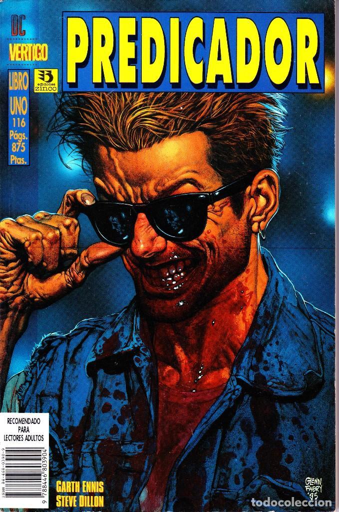 PREDICADOR. 5 TOMOS ZINCO Y NORMA (Tebeos y Comics - Norma - Comic USA)