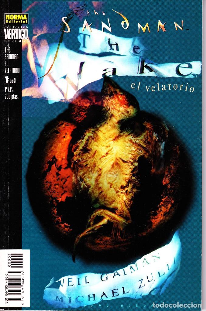 THE SANDMAN. EL VELATORIO 1 AL 3. COMPLETA. NORMA EDITORIAL (Tebeos y Comics - Norma - Comic USA)