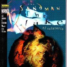 Cómics: THE SANDMAN. EL VELATORIO 1 AL 3. COMPLETA. NORMA EDITORIAL. Lote 110937247