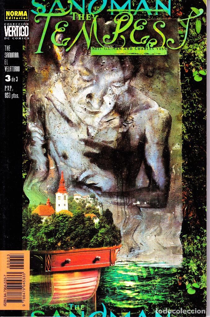 Cómics: THE SANDMAN. EL VELATORIO 1 AL 3. COMPLETA. NORMA EDITORIAL - Foto 2 - 110937247
