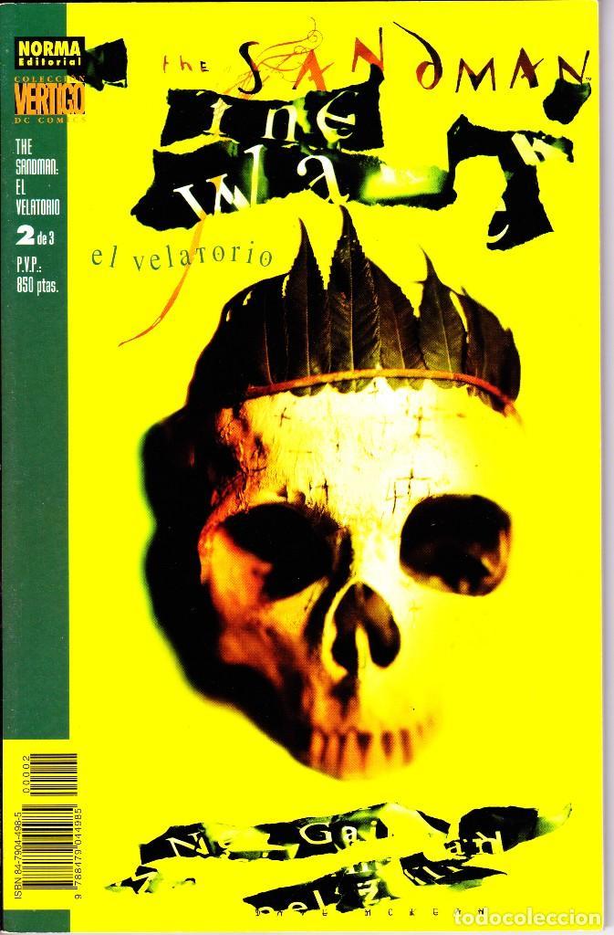 Cómics: THE SANDMAN. EL VELATORIO 1 AL 3. COMPLETA. NORMA EDITORIAL - Foto 3 - 110937247