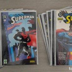 Cómics: SUPERMAN VOLUMEN 1 COMPLETO 20 TOMOS (1+2+3+4+5+6+7+8+9+10+11+12+13+14+15+16+17+18+19+20) NORMA. Lote 110965591