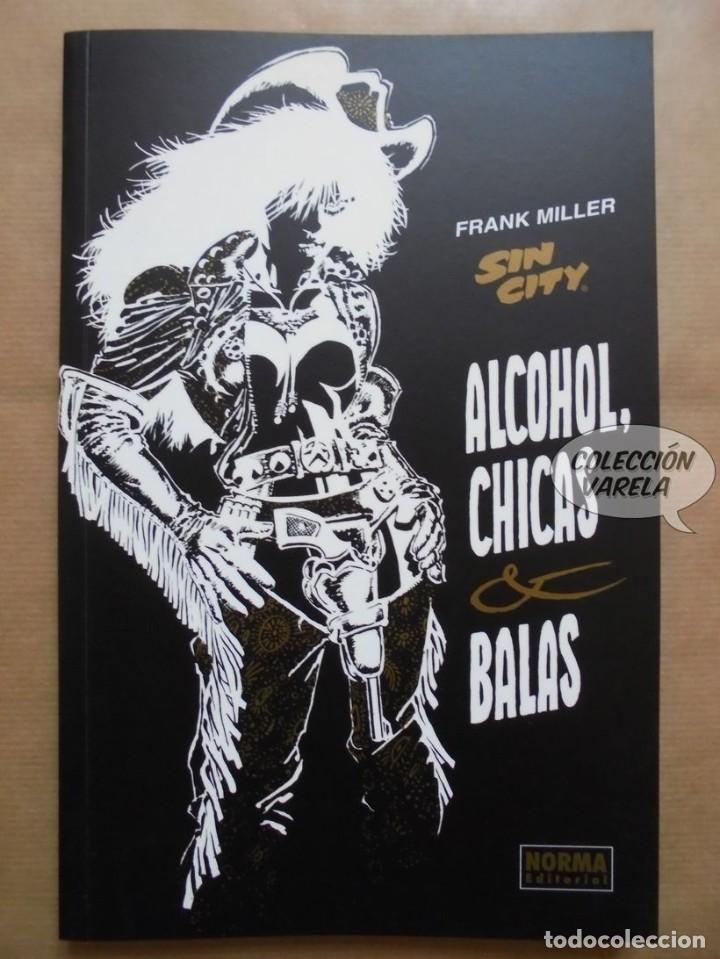 4bd32a6f60 Cómics: Sin city - alcohol, chicas y balas - Frank Miller - Norma -