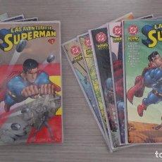 Cómics: LAS AVENTURAS DE SUPERMAN COLECCIÓN COMPLETA EN 10 TOMOS (1+2+3+4+5+6+7+8+9+10) RÚSTICA NORMA. Lote 111037623