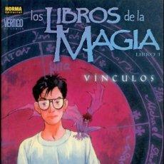 Comics: LIBROS DE LA MAGIA. TOMO 1. 104 PAGINAS. NORMA. RUSTICA. 200 PAGINAS. Lote 206339972