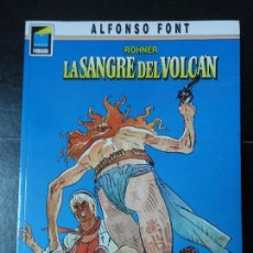 Cómics: ROHNER – LA SANGRE DEL VOLCÁN – COLECCIÓN PANDORA Nº 7 – ALFONSO FONT EDITORIAL NORMA. Lote 111092379