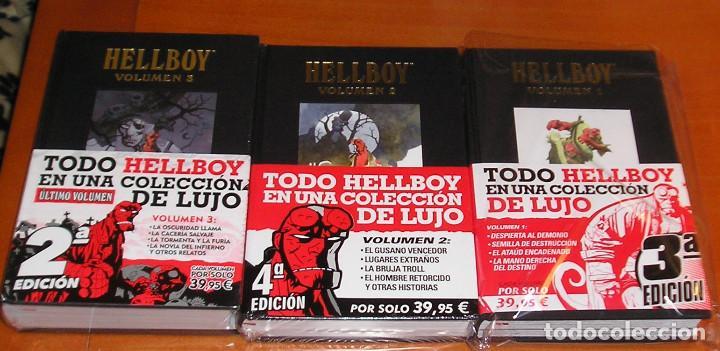 HELLBOY. EDICIÓN INTEGRAL COMPLETA 3 VOLÚMENES NORMA EDITORIAL (Tebeos y Comics - Norma - Comic USA)