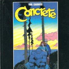 Cómics: S35- CONCRETE. HISTORIAS COMPLETAS 1986 - 1989. COLECCIÓN BLANCO Y NEGRO - LA CUPULA. Lote 111216291